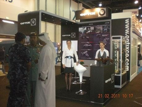 Good start for OPTIX in 2011 during IFSEC and IDEX