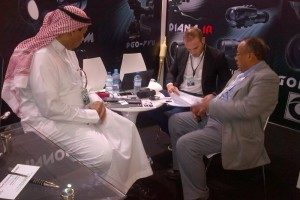 OPTIX - excellent impression and many new contacts at IDEX 2013