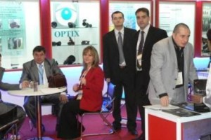 OPTIX Co at the Exhibition DEFEXPO 2010