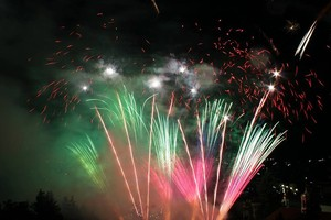 OPTIX sponsors the World Fireworks Championship in Panagyurishte