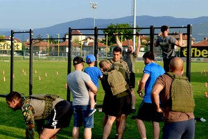 "OPTIX supported the ""Murph challenge Bulgaria 2018"""