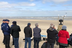 OPTIX has participated in the first SafeShore demo event at the North Sea