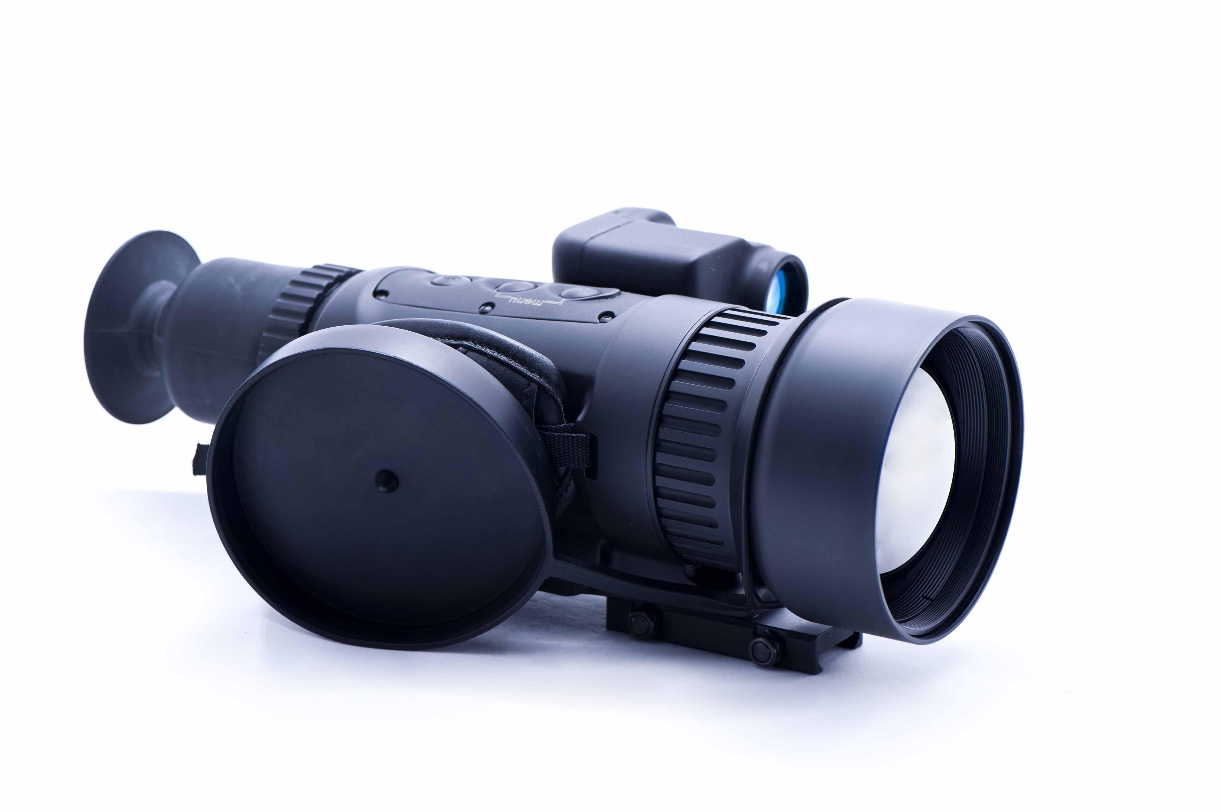 Zielfernrohr Mit Entfernungsmesser Und Nachtsicht : Militäroptik